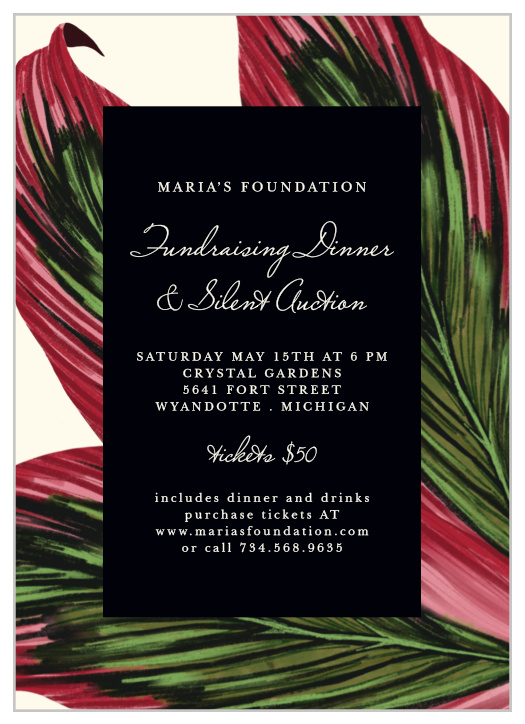 Gala Invitations Corporate Event Dinner Invitations