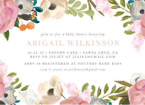 36ff5780562b Baby Shower Invitations Templates - Match Your Color   Style Free!