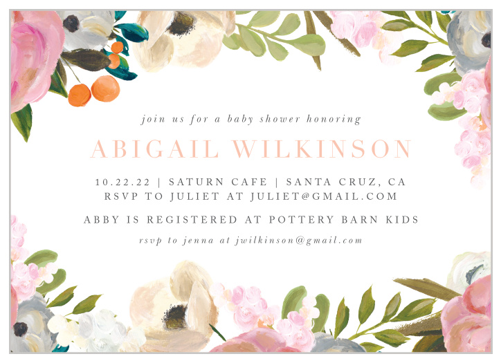 bb76df93cf7a2 Baby Shower Invitations | 40% Off Super Cute Designs - Basic Invite