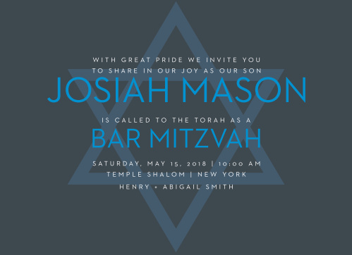 online bar mitzvah invitations match your color style free