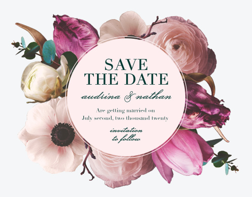 9b9ade2be5 Save The Date Cards | Match Your Colors & Style Free! - Basic Invite