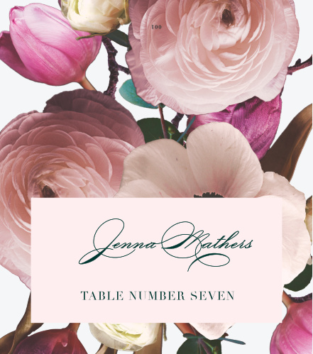 Southern Romance Place Cards