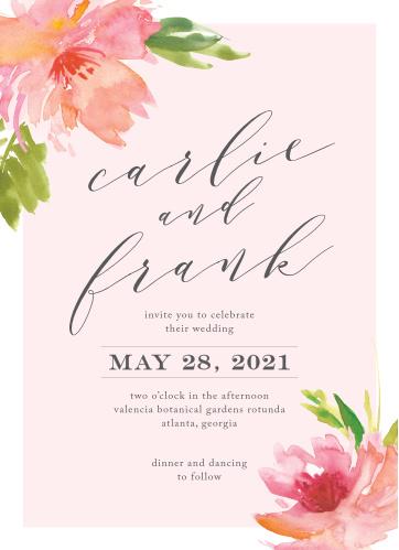 Botanical Gardens Wedding Invitations