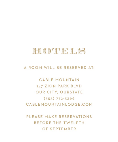 Peachy Flowers Accommodation Cards