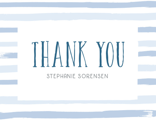 Miracle Pair Baby Shower Thank You Cards