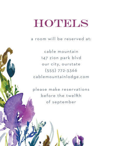Lavender Blooms Accommodation Cards