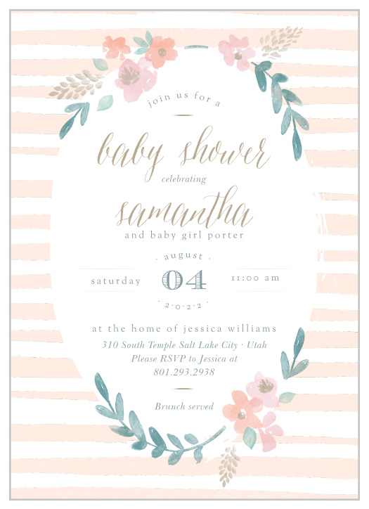 photo regarding Free Printable Baby Shower Invitations for Girls named Kid Shower Invites Templates - Video game Your Shade Layout