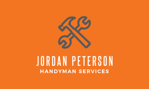 Handyman Business Cards Match Your Color Style Free