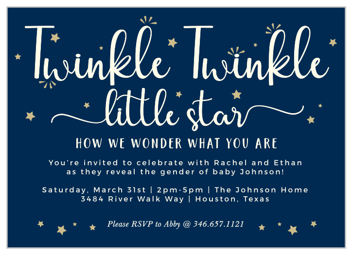 be517bb25db31 All Star Baby Shower Invitations - Match Your Color & Style Free!