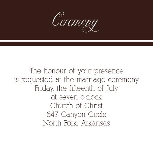 Photo Ribbon Ceremony Cards