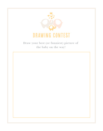 Baby Elephant Baby Drawing Contest