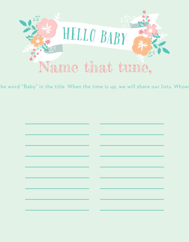 hello baby baby song contest