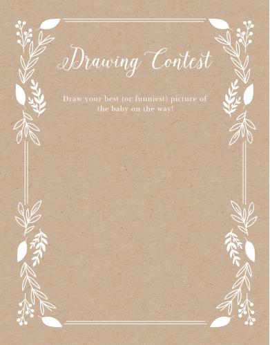 Petit Jardin Baby Drawing Contest