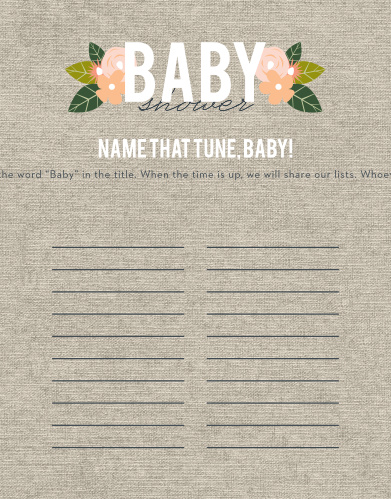 Herbaceous Babe Baby Song Contest