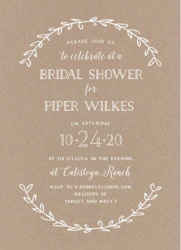 Wedding Shower Invitations.Affordable Bridal Shower Invitations Match Your Color Style Free