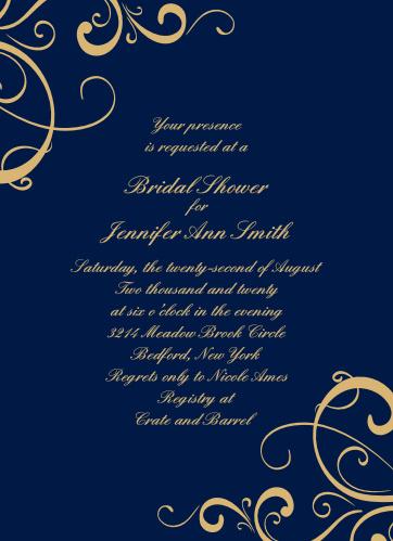6595613fa85c Bridal Shower Invitations   Wedding Shower Invitations