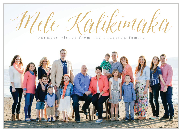 Mele Kalikimaka Christmas Cards.Tropical Christmas Cards Match Your Color Style Free
