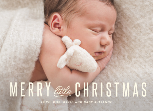 Baby Holiday Cards Match Your Color Style Free