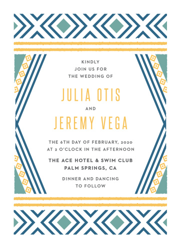 beach wedding invitations match your color style free