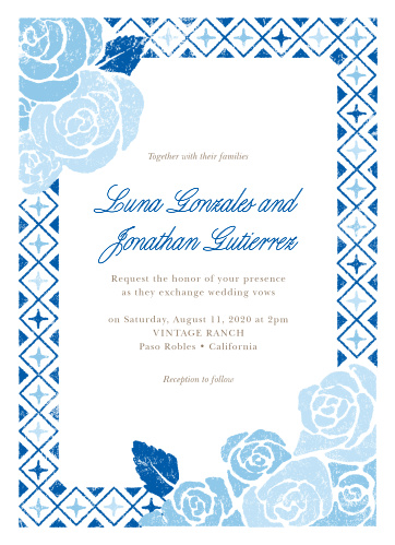 Mexican Wedding Invitations Match Your Color Style Free