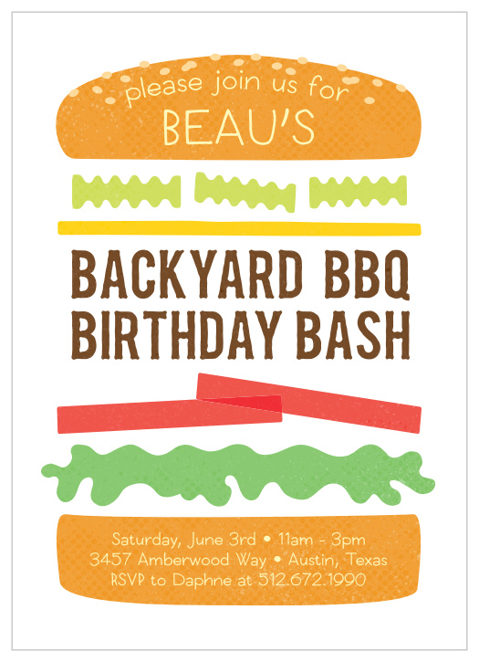It is a picture of Free Printable Cookout Invitations throughout template