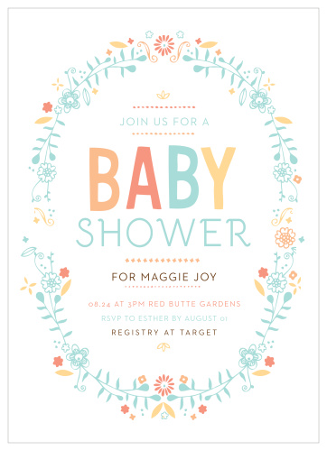 Baby Announcements And Baby Shower Invitations By