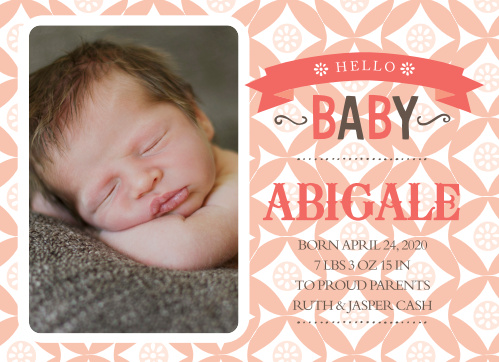 Birth Announcements & Cards Baby Bird Girl Birth Announcements Fill Ins Set Of 10