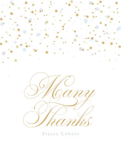 Birthday Soiree Milestone Birthday Thank You Cards