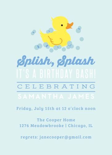 Birthday Invitations Party Invites