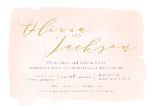 Simple Romance Wedding Invitations