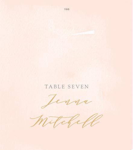 Simple Romance Place Cards