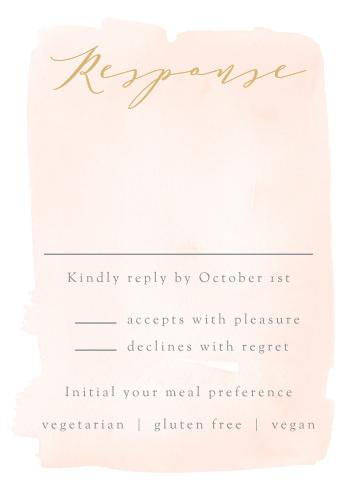 Simple Romance Response Cards