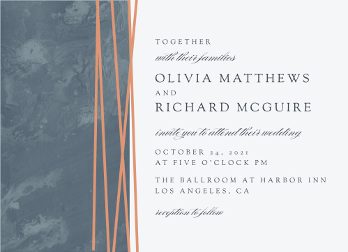 Formal Lines Wedding Invitations