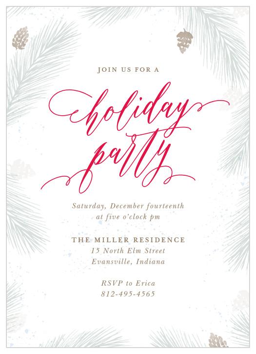 Holiday Party Invitations 30 Off Use Code Holi30 Basic Invite