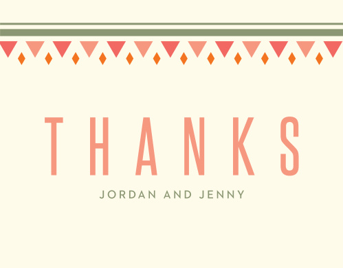 Taco Bout Love Bridal Shower Thank You Cards