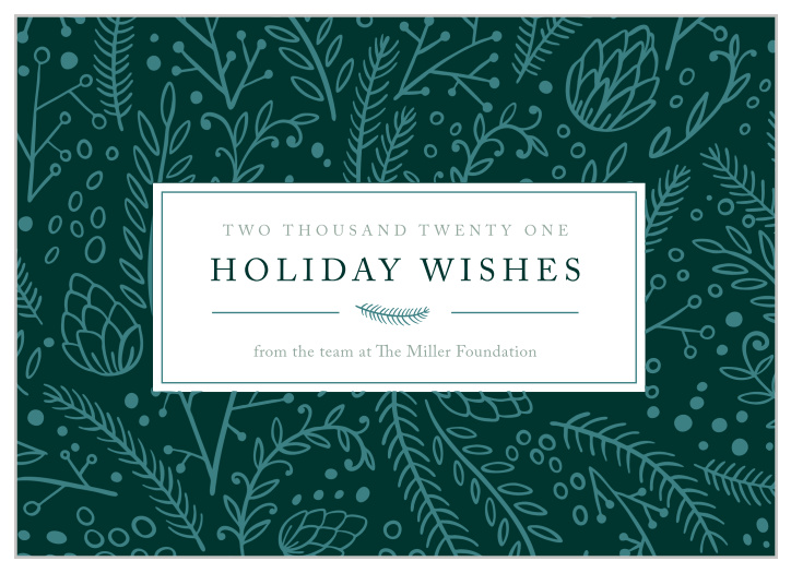 Personalized Business Christmas Cards.Business Corporate Holiday Cards Easy To Design Basic