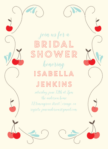 7998f6730701 Photo Bridal Shower Invitations - Match Your Color   Style Free!