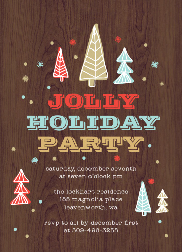b6a28c1c724f Holiday Party Invitations | Match Your Color & Style Free! - Basic ...