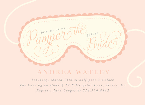 Spa Day Party Invitations By Basic Invite