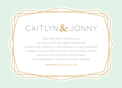 Modern Simplicity Wedding Invitations