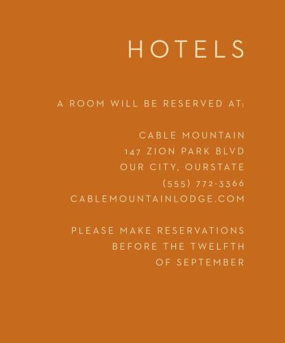 Desert Dreams Accommodation Cards