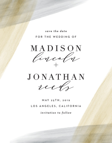 save the date cards match your colors style free basic invite