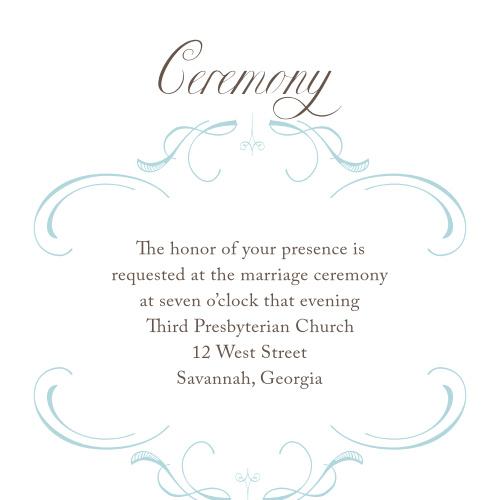 Flourish Charm Ceremony Cards