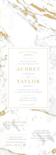 Sending Wedding Invitations | Seal And Send Wedding Invitations All In One Wedding Invitations