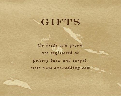 Leaves of Fall Registry Cards
