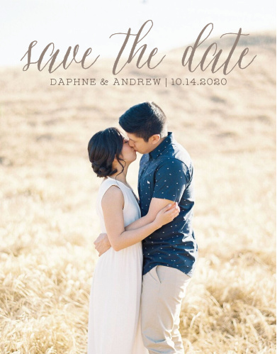 elegant save the dates match your color style free