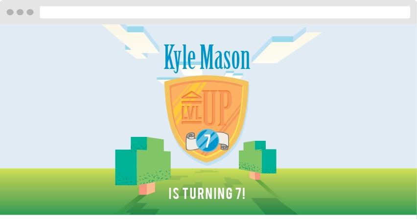 Level Up Birthday Website