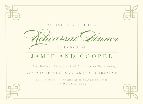 tie the knot wedding invitations match your color style free