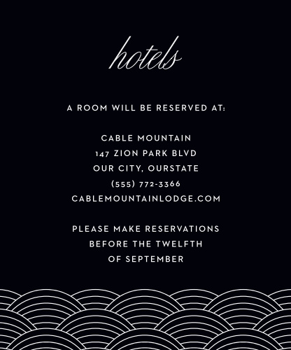 Los Angeles Skyline Accommodation Cards