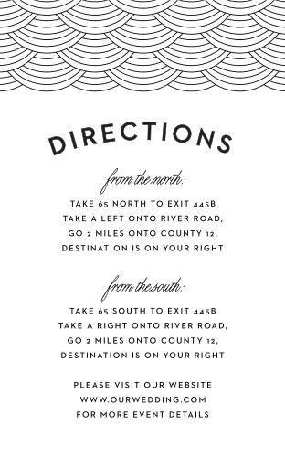 Washington D.C. Skyline Direction Cards